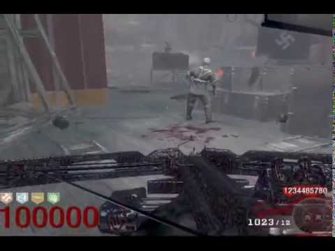 Black ops Zombies round 100,000 with over 1000000000 points!!! (highest round ever) (HACKED)