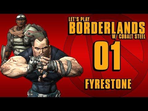 Borderlands GOTY w/ Cobalt Steel『01』Fyrestone