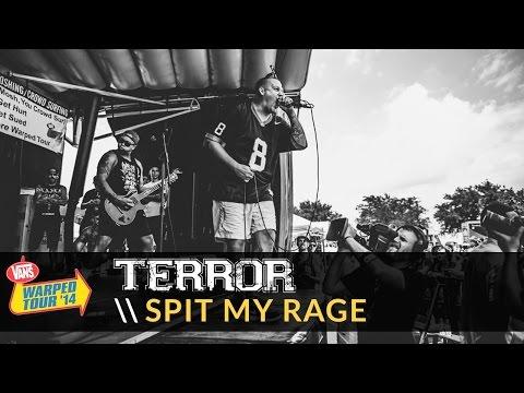 Terror - Spit My Rage (Live 2014 Vans Warped Tour)
