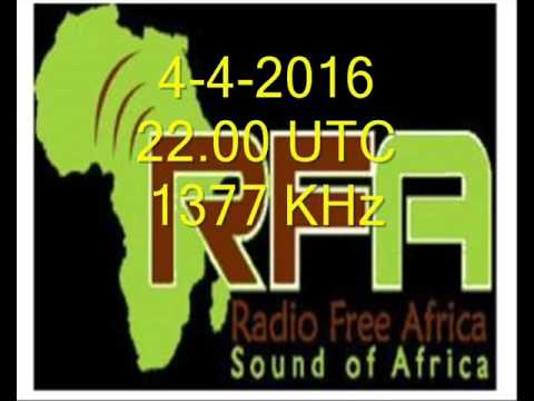 RADIO FREE AFRICA, MWANZA, TANZANIA 1377 KHz