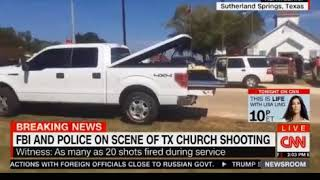 Witnesses say several people shot at church in Sutherland Springs, Texas