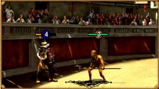 Видео к браузерной игре Гладиаторы