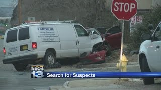 Search for stolen car thieves continues after fatal crash
