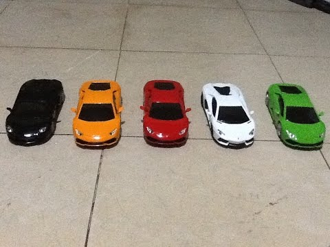 Petron Lamborghini Model Cars Movements