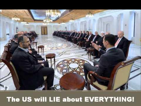 "US State Dept Calls Bashar al Assad's Instagram Pics ""Despicable"" The US is the ""DESPICABLE"" ones"