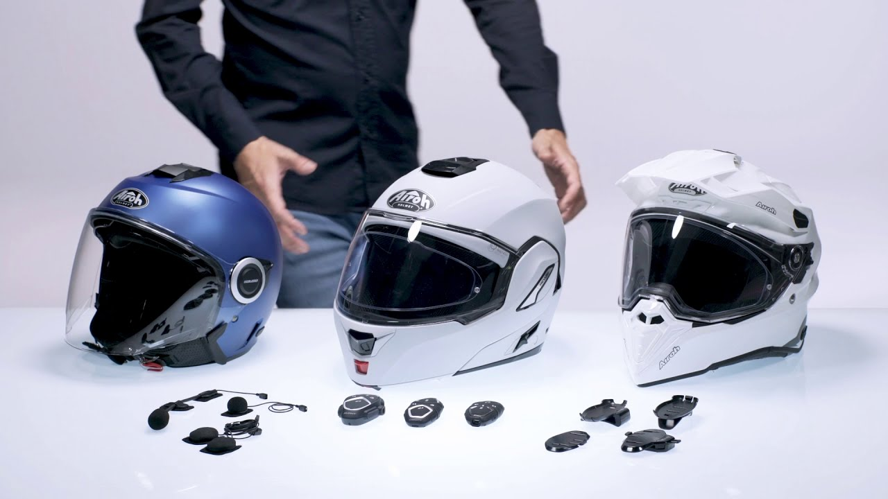 How to install Interphone Avant, Active and Connect on the helmet