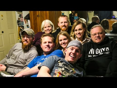 mecham family party with ellie and jared youtube. Black Bedroom Furniture Sets. Home Design Ideas