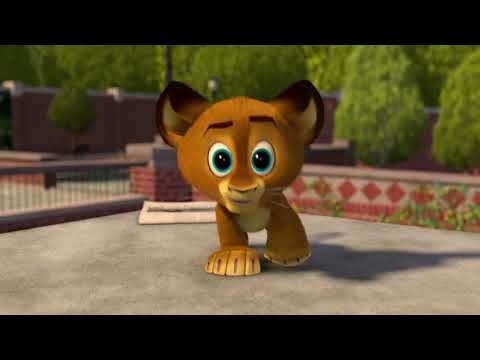 Madagascar 2 - Baby Alex Intro (the traveling song) HD 1080p [intro scene]