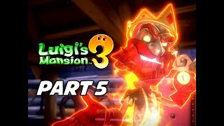 Luigi's Mansion 3 Gameplay Walkthrough Part 5 (Nintendo Switch)