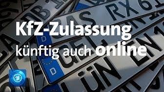 Neuer Service: Autozulassung künftig auch online möglich