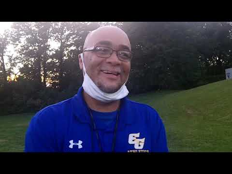 Interview with Coach Simpson the head football coach for the Eastern Guilford Middle School Wildcats