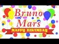 Happy Birthday Bruno Mars Song