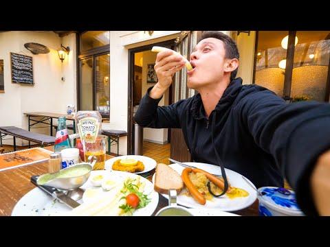 Layover In Frankfurt - GERMAN FOOD, Doner Kebab, And Sightseeing In Frankfurt, Germany!