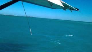 Seaplane Leaving Fort Jefferson - Dry Tortugas, FL