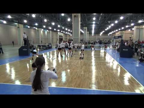 Skyline Juniors Volleyball 16 Molten Royal VS Asics Willowbrook 16PLA