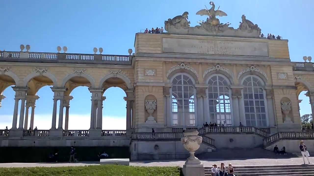 Gloriette, Schönbrunn Palace, Vienna, Austria, Europe