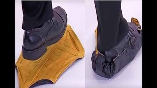 2018 New  Reusable Hands-free shoe covers Durable Portable Automatic