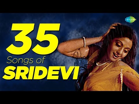 Top 35 Songs of Sridevi | श्रीदेवी के 35 गाने | HD Songs | One Stop Jukebox
