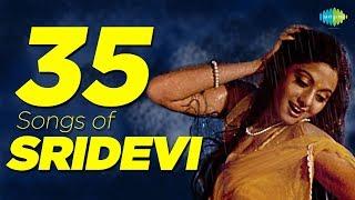 Top 35 Songs Of Sridevi , श्रीदेवी के 35 गाने , HD Songs , One Stop Jukebox