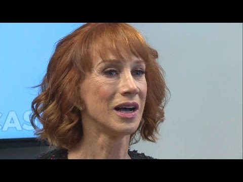 Kathy Griffin speaks about photo controversy