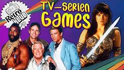 A-Team, Knight Rider & Xena! TV-Serien Klassiker als Videospiel | Retro Klub