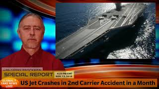 US Jet Crashes in 2nd Carrier Accident in a Month - Philippines Breaking NEWS Today