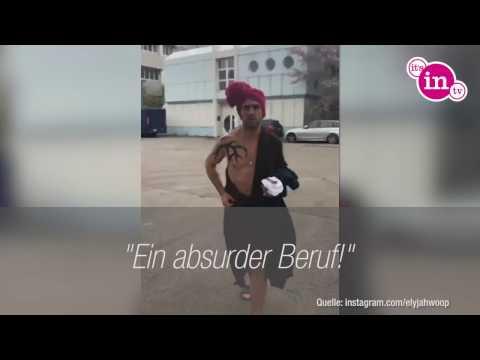 """Elyas M´Barek: Lustiger Rundgang am """"Fack ju Göhte 3""""-Set!"""
