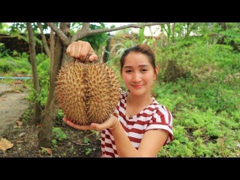 Yummy Durian Sticky Rice Dessert – Durian Sticky Rice Dessert Cooking – Cooking With Sros