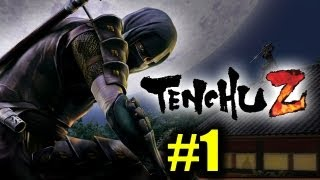 Tenchu Z Solo Playthrough Pt 1