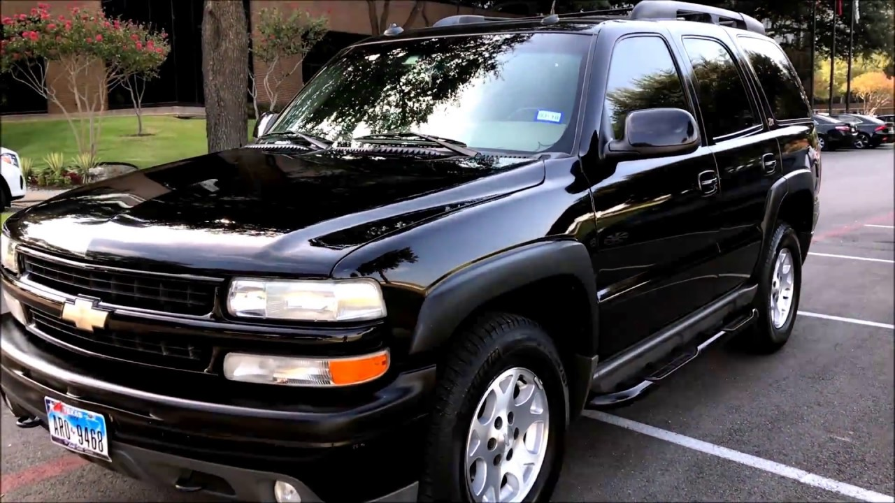 2003 chevrolet tahoe z71 4x4 for sale 5 200 [ 1280 x 720 Pixel ]