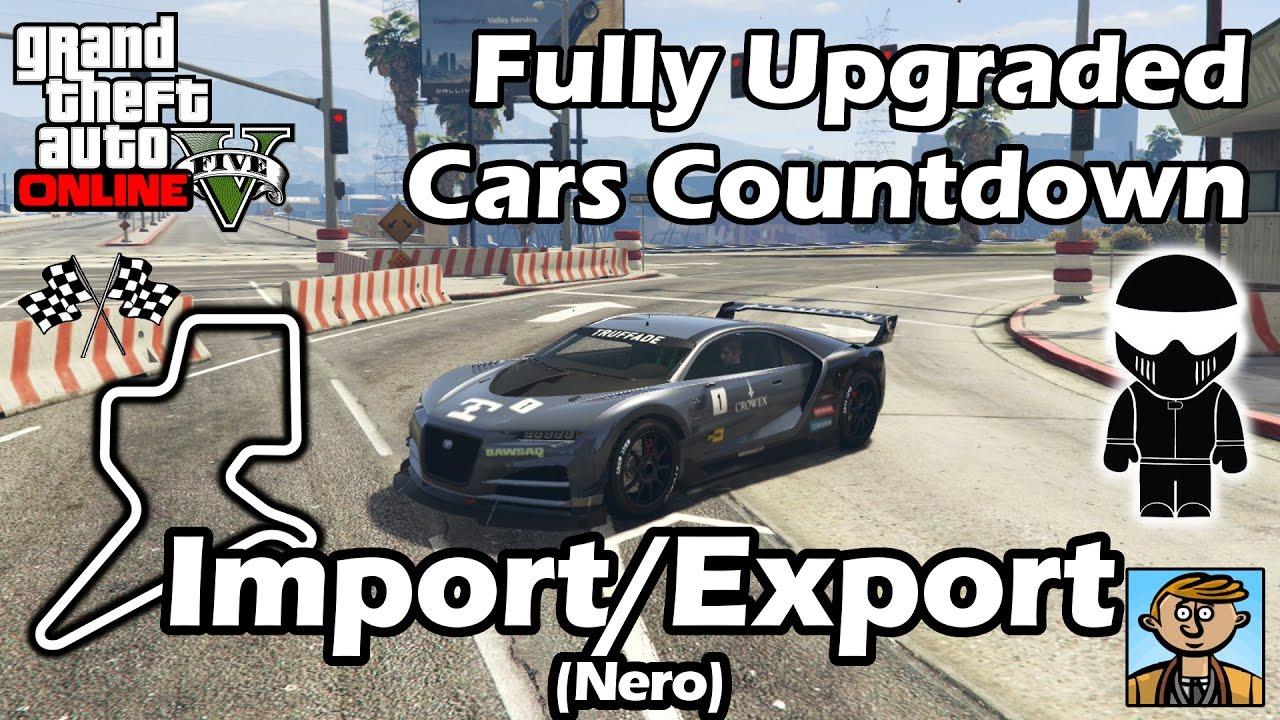 Fastest Import Export Dlc Vehicles Nero Best Fully Upgraded