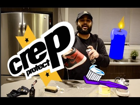 CREP PROTECT VS DIY SHOE CLEANERS!! WHICH IS BETTER??