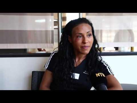 Cecilia Brækhus snakker om kvinneboksing i tysk TV
