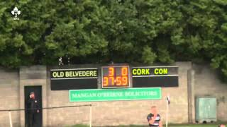 Irish Rugby TV: Old Belvedere 3 Cork Constitution 3