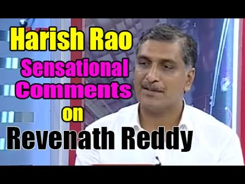 Harish Rao Tongue Slip On Revanth Reddy In Editors Time