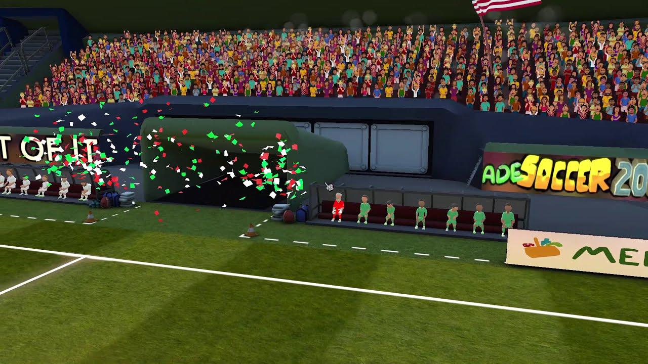 SUPER ARCADE SOCCER 2021 Gameplay (PC Game)