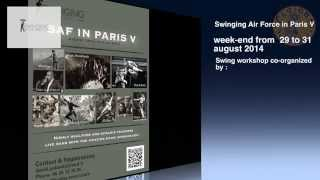 TEASER SWINGING AIR FORCE IN PARIS V (29 - 31/08/14)
