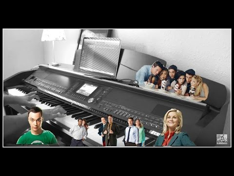 AMAZING Big Bang Theory | Friends | The Office | Parks and Rec Theme Song Piano Cover