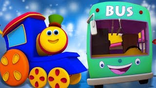 Bob o trem | as rodas do onibus | rimas de berçário | Wheels On The Bus