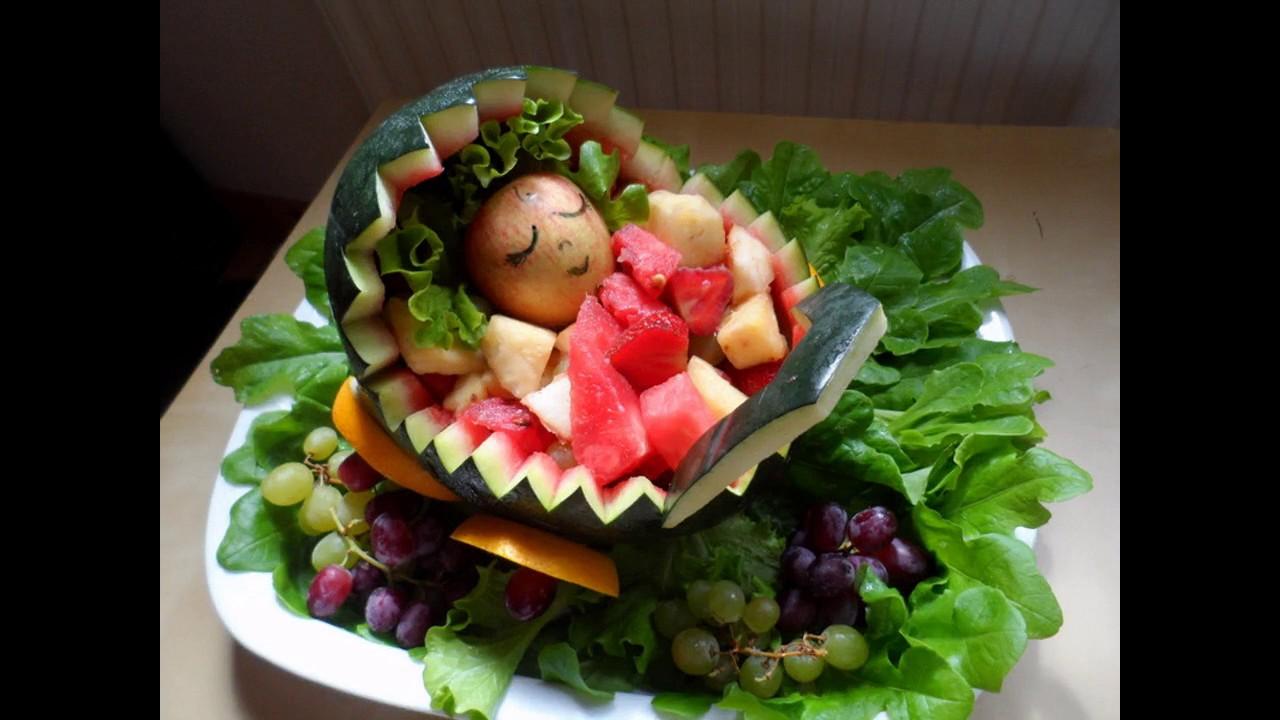 Fruit decoration baby shower youtube
