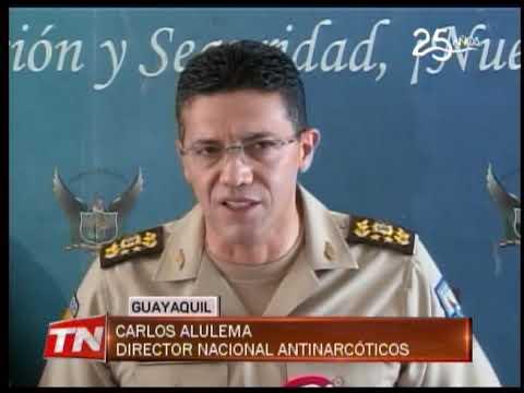 Una tonelada de cocaína decomisada y dos detenidos en operativo