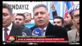ITC Genel Başkanı ve Kerkük Milletvekili Erşat Salihi'nin Şehitler Tepesi Ziyareti