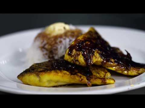 How To Make Savory Pan Seared Sea Bass (Siakap) With Soy (Kicap) Sauce | Kitchen Lab | Butterkicap