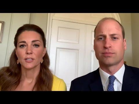Duke and Duchess of Cambridge thank Australian first responders