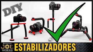 DIY: DSLR Camera & Video Rig 2 (SkateBoarding) ¿Con cuál de estos estabilizas tus videos?