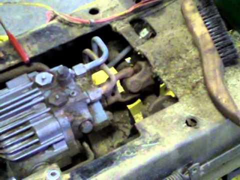 John Deere Gator Wiring Diagram John Deere 317 Drive Shaft Removal And Cooling Fan Removal