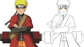 Tutorial make Naruto Sage Mode with CorelDRAW X7 b