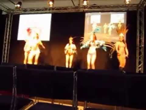 Energia Positiva show at a Beauty Workshop - Carnaval choreography by me
