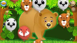 Design Animals For Kids// Education Game For Kid // Lulu Chan