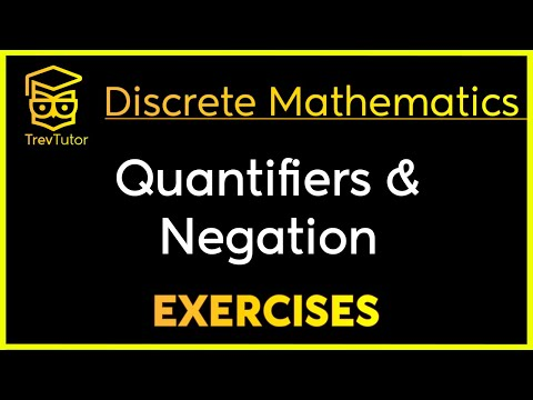 [Discrete Math 1] Negating Quantifiers and Translation Examples